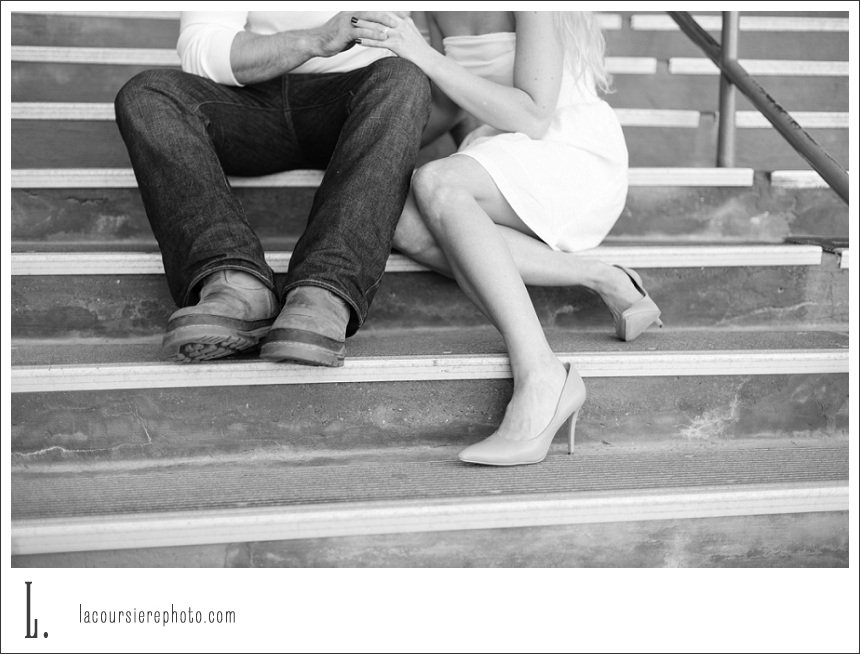 engagement session at duluth woodland middle school